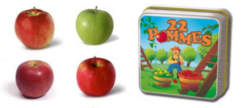 22 Pommes sur les étals