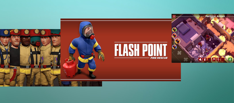 Flash Point - Fire Rescue : Flash Codes... non ?!? tu décodes ?!?