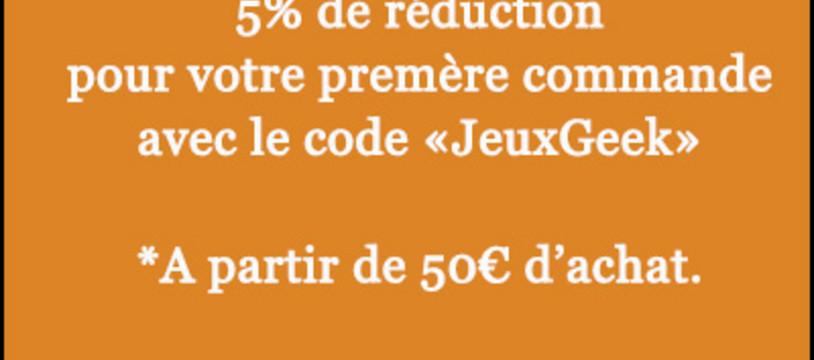 5% de réduction pour découvrir notre site