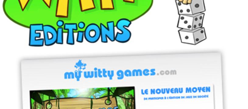 Witty, un nouvel éditeur, un nouveau jeu