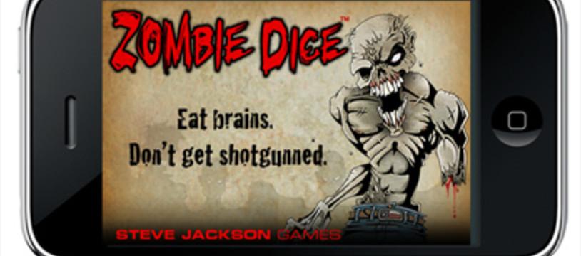 Zombie Dice, gratuit sur iPhone