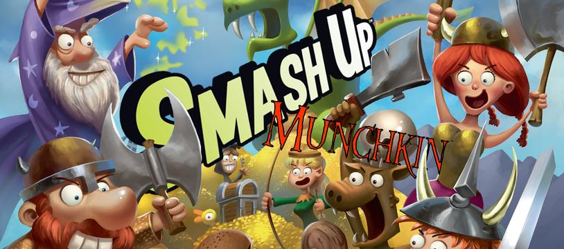 Smash'Up Munchkin : le mariage de l'extrême !