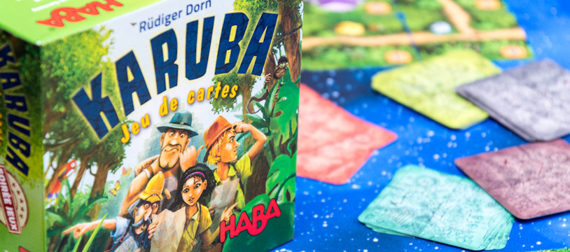 Sur le Vif! Review de Karuba le jeu de cartes! Une version cartes qui n'a rien à envier à son grand frère Karuba!