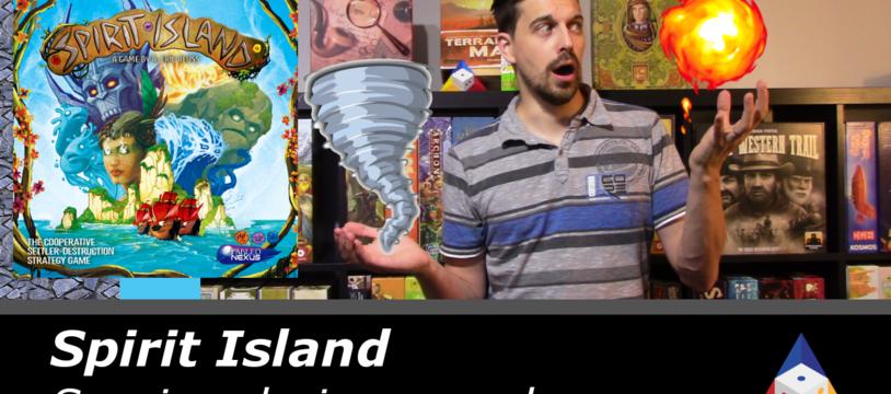 Spirit Island - Session de jeu en solo!