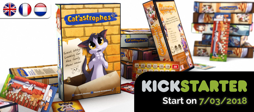 J-6 avant le Kickstarter de Cat'astrophes