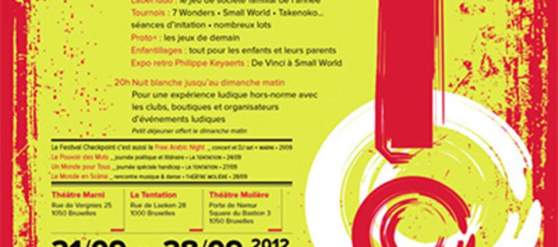 CheckPoint Festival à Bruxelles : du jeu mais pas seulement !