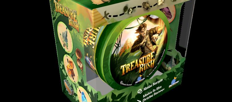 Treasure rush: la course au trésor peut commencer