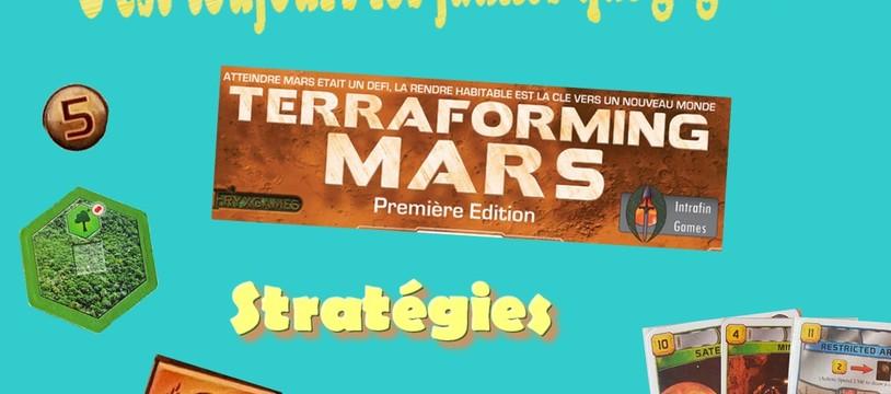 Terraforming Mars, un peu de stratégie...