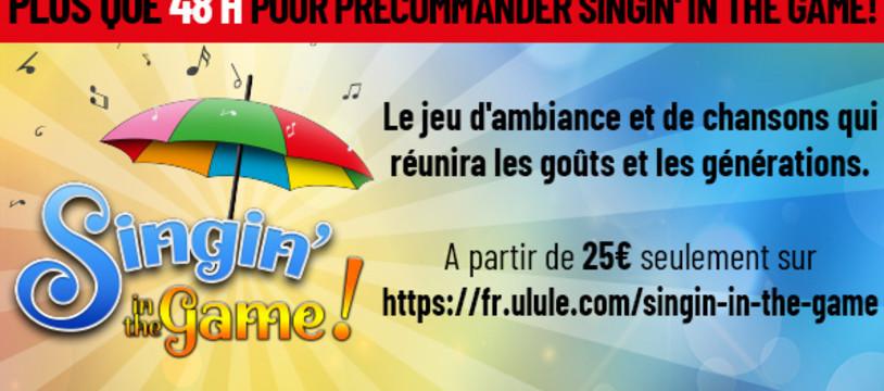 Dernier jour sur Ulule pour Singin' in the Game!, le jeu qui vous fera redécouvrir et chanter tout le répertoire! (+10 bonnes raisons de participer au projet)