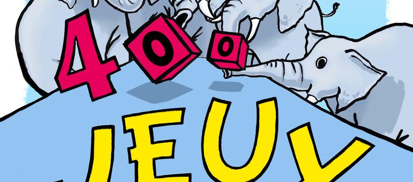 """""""LES 400 JEUX"""" Festival du jeu de CHAMBERY : Deuxième"""