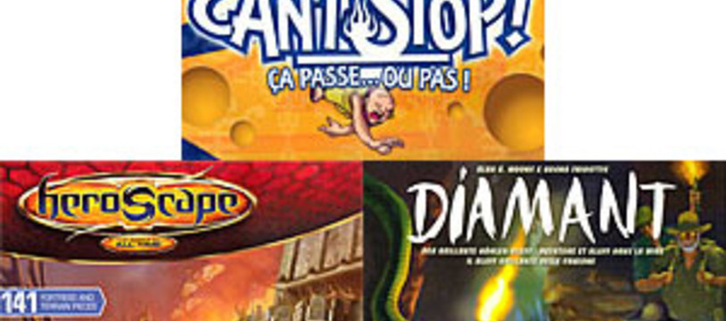 [CyBeRFaB] Can't Stop / Diamant / La forteresse des Archkyries