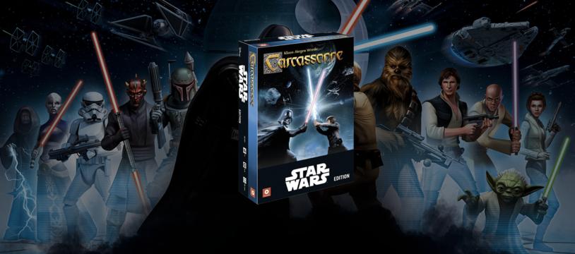 Carcassonne - Star Wars édition, une tuile dans la force