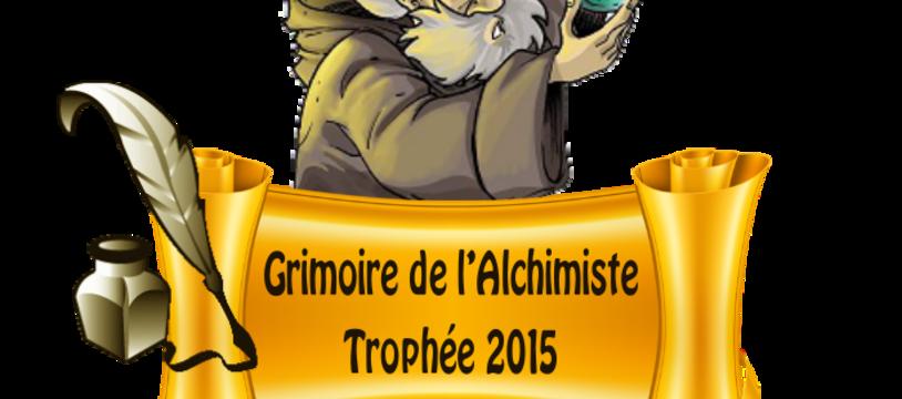 Trophée du Grimoire de l'Alchimiste - Les finalistes