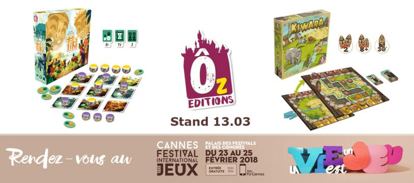 Ôz Editions à Cannes : le programme