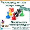 """Soirée-jeux """"Test de prototypes"""""""