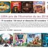 Weekend Ludia 2016 - Prix de l'illustration de jeux de société