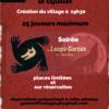 Soirée Les Loups Garous de Thiercelieux à Râches (59)