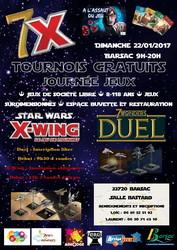 7X - Tournois X-Wing et 7 Wonders Duel et journée jeux