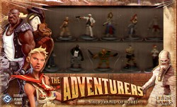 The Adventurers - Figurines prépeintes Horus