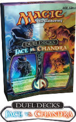 Magic the Gathering - Jace vs. Chandra