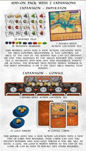 Ave Roma -  Consul & Imperator Expansion Pack