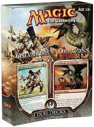 Magic the Gathering - Chevaliers vs. Dragons