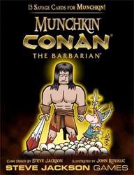 Munchkin Quest : Conan the barbarian