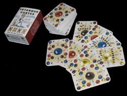Pétanque cartes
