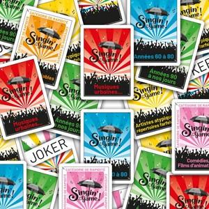 Singin' in the Game! : les 55 cartes goodies