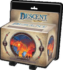 Descent : Voyages dans les Ténèbres ! - Pack Lieutenant Valyndra