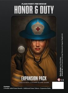 Flash Point Fire Rescue Expansion : Honor and Duty
