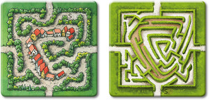 "Carcassonne - Extension ""Le(s) Labyrinthe(s) / (The) Labyrinth / Das (Die) Labyrinth(e)"""