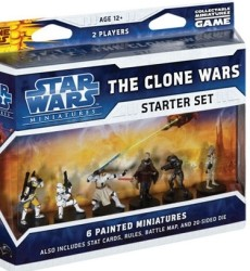 Star Wars Miniatures : The Clone Wars : starter set