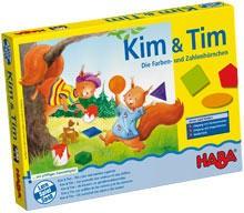 Kim & Tim Les écureuils aux couleurs et aux chiffres