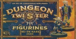 Dungeon Twister : Figurines Jeu de base jaune