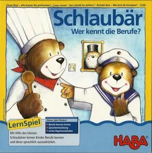 L'ours savant : Qui connaît les métiers ?