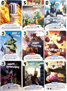 King of New York : Set 9 cartes promos