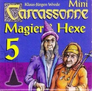 Carcassonne : Magier und Hexe