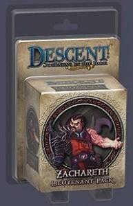 Descent : Voyages dans les Ténèbres ! - Pack Lieutenant Zachareth
