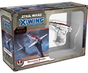 X-Wing : Jeu de Figurines - Bombardier de la Résistance