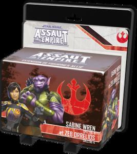 Star Wars - Assaut sur l'Empire :  Sabine Wren et Zeb Orellios