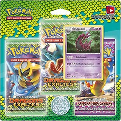 Pokemon JCC : Noir & Blanc- Dragons Exaltés - Booster - Pack de 3