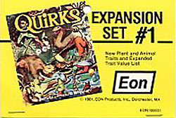Quirks : Expansion Set 1