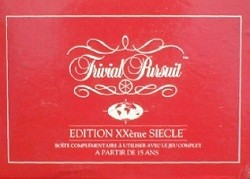 Trivial Pursuit : Edition XXème siècle