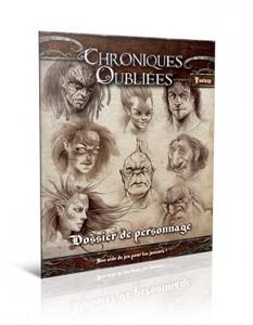 Chroniques Oubliées -  Dossier de Personnages