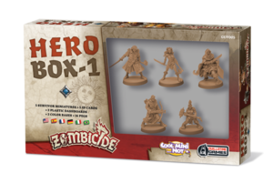 Zombicide black plague - Hero Box #1