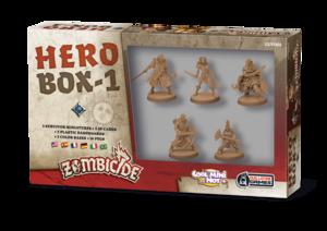 Zombicide black plague - Hero Box #1