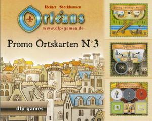 """Orléans - Extension """"Tuiles promotionnelles de Lieu - Promo Place Tiles - Promo Ortskarten n° 3"""""""
