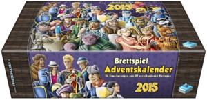 Brettspiel Adventskalender 2015