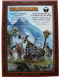Warhammer : Etat-Major des Marteliers Nains